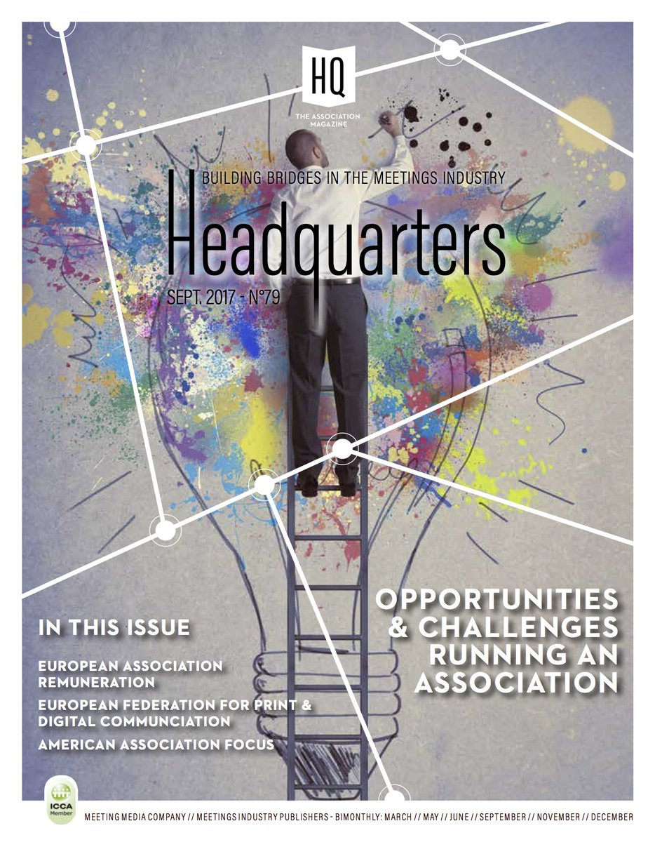 Check latest edition of #Headquarters Magazine & ECM article on opportunities & challenges of running an association @meetingmedia #WeAreECM