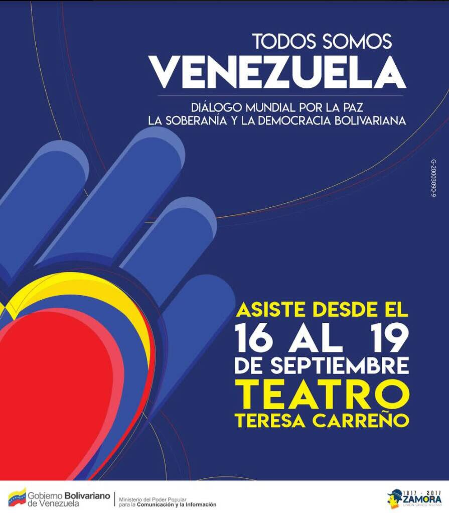 Comrades from .@SACP1921 and .@_cosatu attending the International Solidarity Congress in #Caracas. #WeAreAllVenezuela #TodosSomosVenezuela<br>http://pic.twitter.com/2j87fgxGex