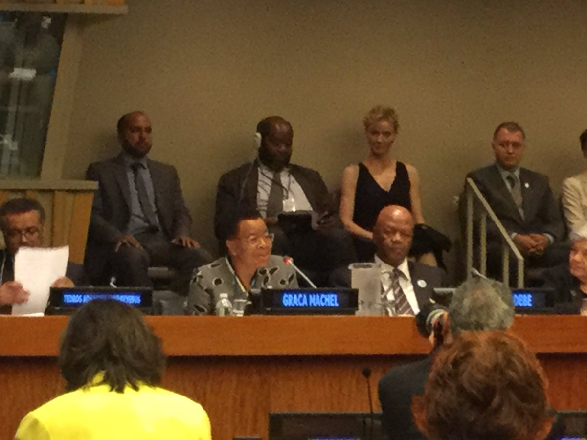 Graça Machel @G_MachelTrust - &#39;let&#39;s add the face &amp; voice of #adolescents also in events like this to rule unleash their power&#39; #EWECisME<br>http://pic.twitter.com/hf7CIVyJaT