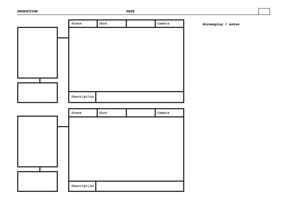 Film Storyboards Here Is Another Free Pdf Storyboard
