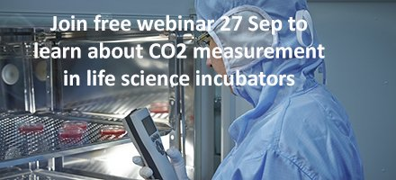 Already registered to our #CO2 webinar? Free webinar on 27 Sep  about measuring CO2 in life science incubators   http:// bit.ly/2gpj8tj  &nbsp;  <br>http://pic.twitter.com/WhYQZjM6ma