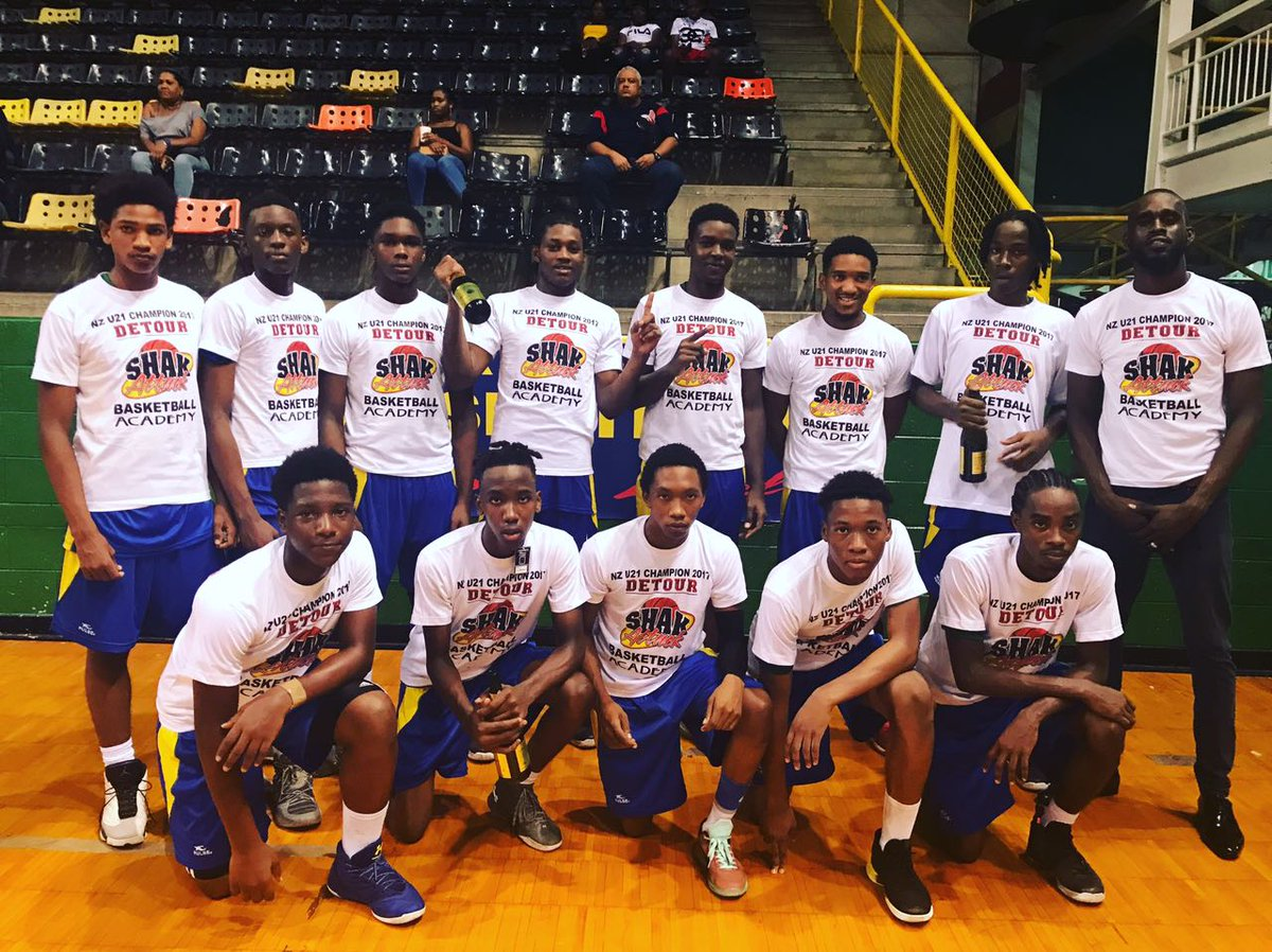#Champions x   Congrats to Detour Shak Attack, U-21 North Zone #Basketball League Champions 2017   #YouthBasketball #TrinidadandTobago<br>http://pic.twitter.com/GyAfx6xYtM