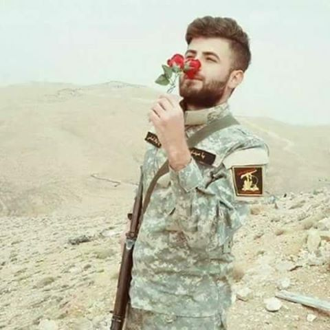 #شهداؤنا_عظماؤنا ... ثم احمرّ الورد خجلا...