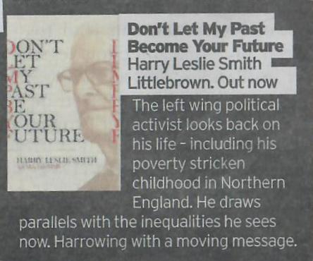 Sunday Mirror said of my book Don&#39;t Let My Past Be Your Future. &quot;Harrowing with a moving message.&quot; #labour, #HousingDay<br>http://pic.twitter.com/mbLGq3sYYo