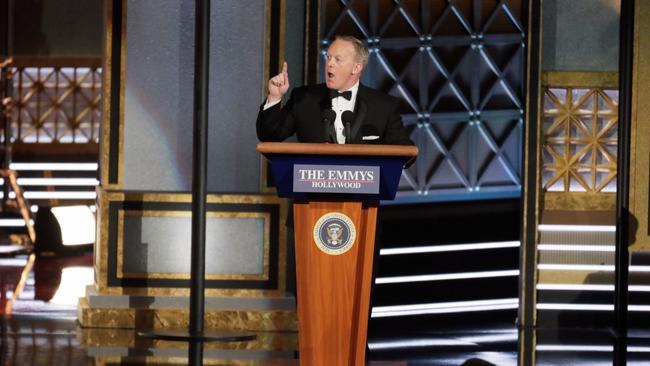 "Riding high on Trump, ""SNL"" won big at the Emmys last night https://t.co/ER0swNATlc https://t.co/3jfVbTxlWI"