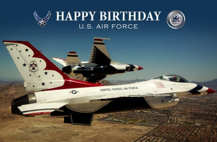 Happy 70th birthday @USAirForce https://t.co/huFXCU5gHG