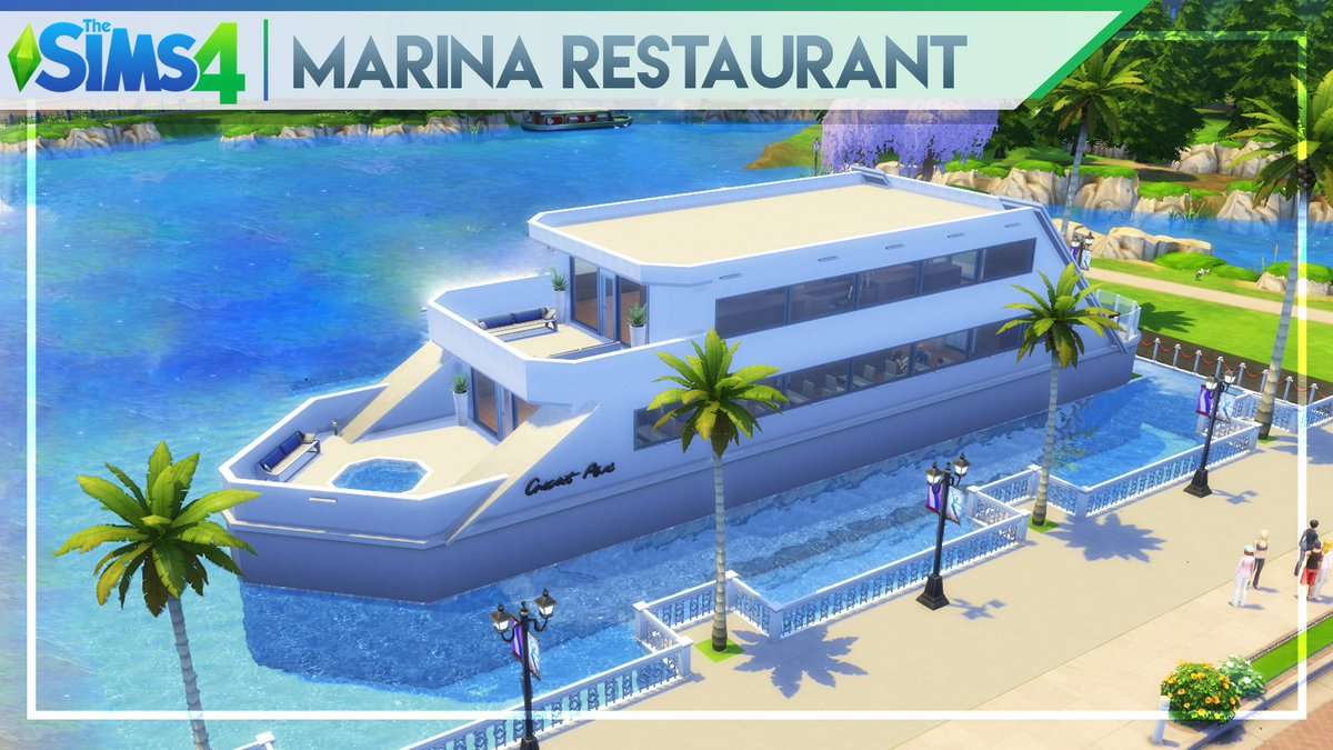 Thank you so much everyone! 100.000 views on my MARINA #RESTAURANT #TheSims4 #Community #Lot #Building  https:// youtu.be/O2_8AcimMVQ  &nbsp;   #thesims<br>http://pic.twitter.com/15F5nIzG8L