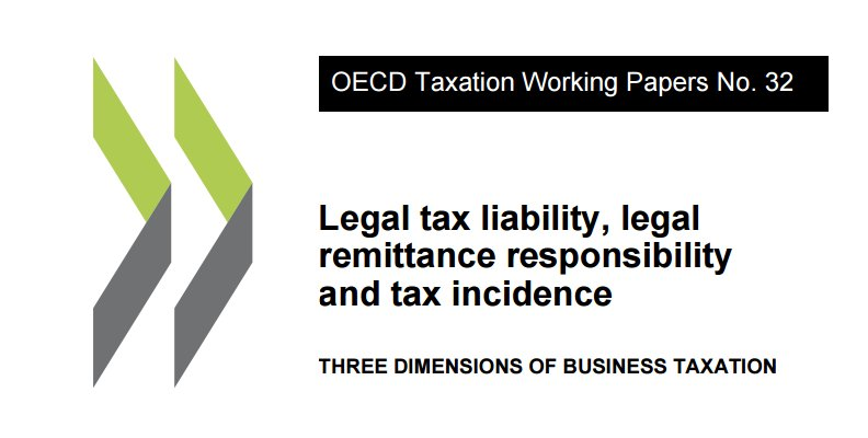 Businesses play key role in #tax systems as both payers &amp;remitters. A new paper measures these across #OECD c&#39;tries  http:// bit.ly/2fuq58R  &nbsp;  <br>http://pic.twitter.com/sRw6KIMTIV