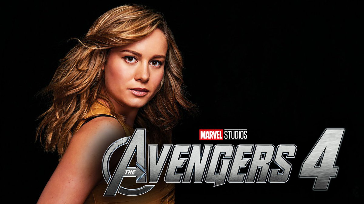 "mcu news & tweets on twitter: ""brie larson (the actress playing"