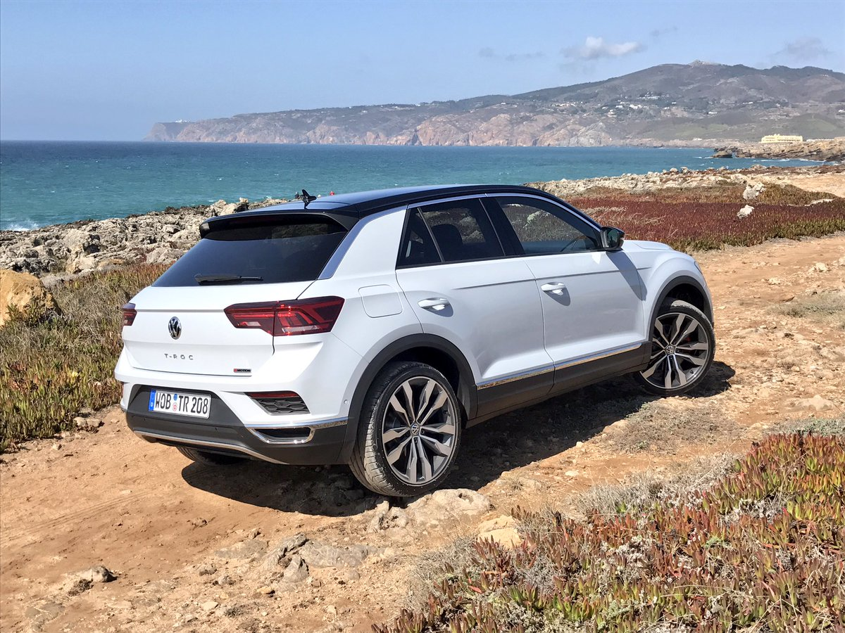new volkswagen t roc on a rock full review out on oct 13. Black Bedroom Furniture Sets. Home Design Ideas