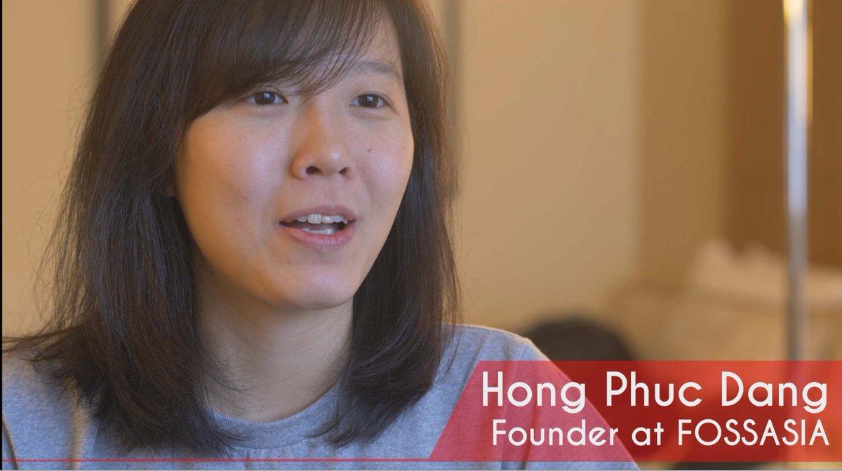 Women Force of Open Source: Hong Phuc Dang of @fossasia   https:// youtu.be/rpB3d5A2UVE  &nbsp;   #ossummit @linuxfoundation<br>http://pic.twitter.com/he4B53hcBg