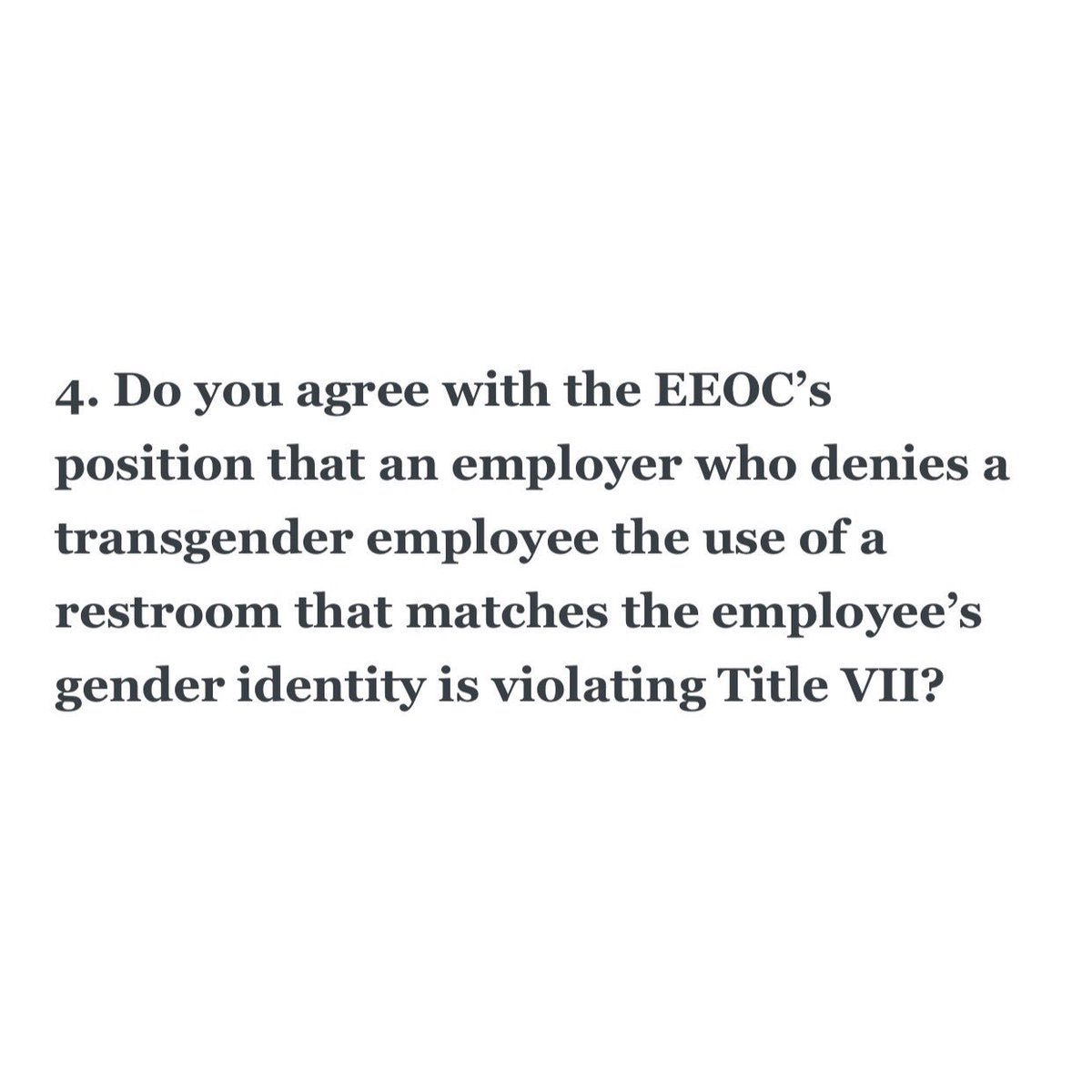 The EEOC should also work to ensure that transgender employees are protected from health coverage discrimination #EqualPay.