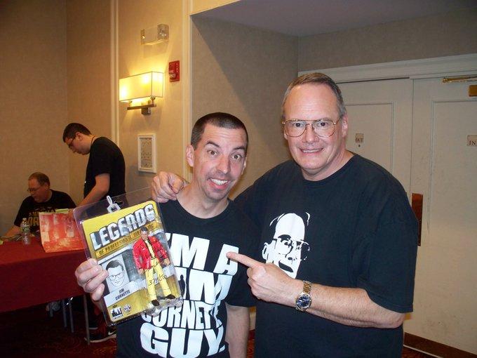 Happy Birthday Jim Cornette!!!!! It\s always great meeting you and buying your merchandise.