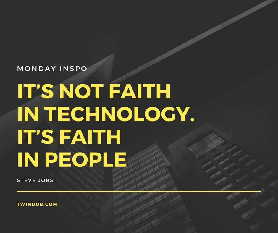 Its not faith in technology. Its faith in people #socialmediabranding #socialmediamarketing #marketing #twindub #searchengine #affiliate<br>http://pic.twitter.com/B4qq2diIXF