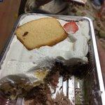 昼飯はケーキ屋で最高の弁当を買って食べた。ケーキの切れ端を生クリームの海にぶち込んだ狂気の弁当だ。こ…