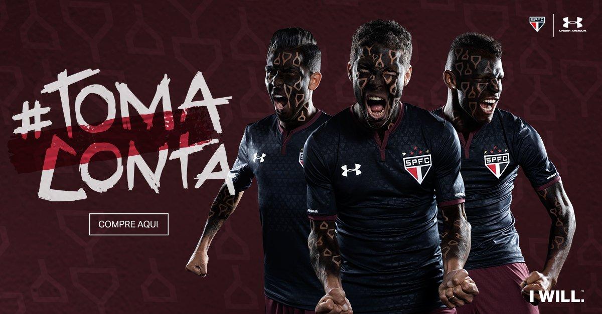 Revelada a nova camisa III do Tricolor! Garanta a sua na @SPMania 🔴⚪⚫    Confira aqui 👉  https://t.co/LZKIquoixv