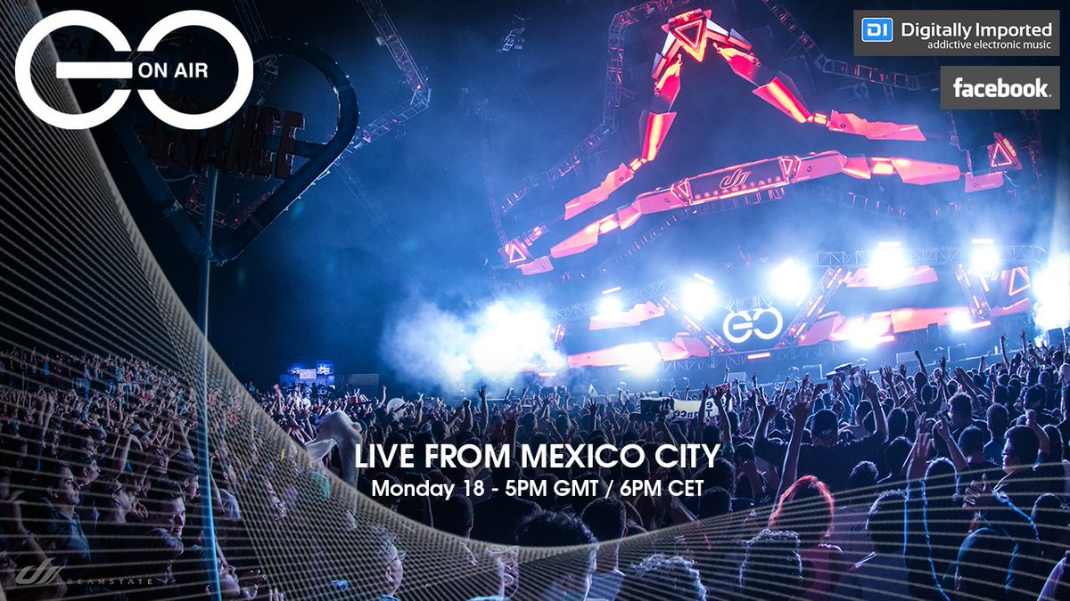 Welcome #MusicLovers, ready for #GOOnAir - Live From Mexico City? Tune in via  http:// di.fm/trance  &nbsp;   or head over to FB live now!<br>http://pic.twitter.com/DPdRVp45hY