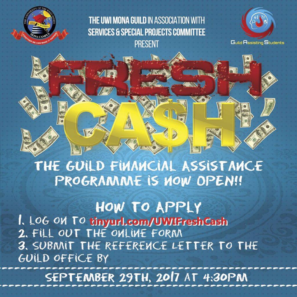 Uwi mona guild on twitter the fresh cash financial assistance 900 am 18 sep 2017 altavistaventures Image collections