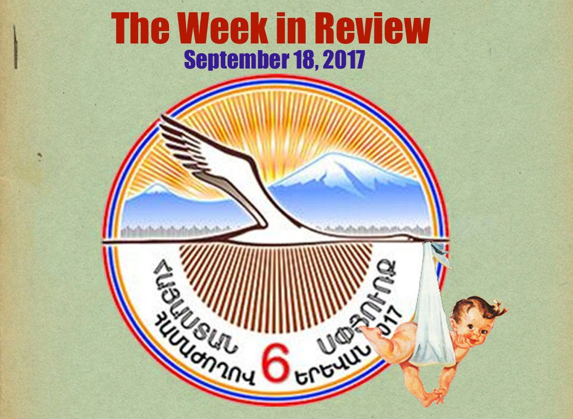 Week in Review #Armenia #Diaspora conference, #ecology #Amulsar &amp; more  https://www. evnreport.com/podcasts/ep-11 5-the-week-in-review-18-09-17 &nbsp; … <br>http://pic.twitter.com/ZL2DRTHSQw