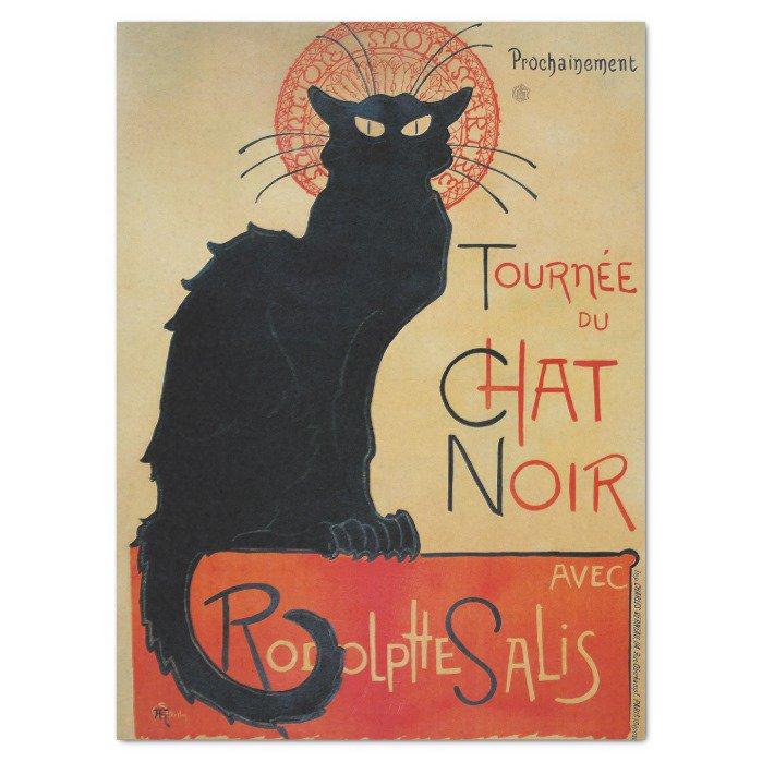#Vintage #Cat #Art Le Chat Noir Tissue #Paper   https://www. zazzle.com/z/ygogr?rf=238 581041916875857 &nbsp; … <br>http://pic.twitter.com/6TbSud6wyP