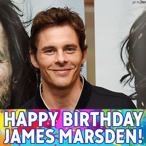 Happy Birthday to actor James Marsden!