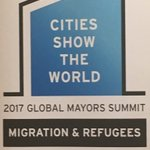 Cities are frontline players in dealing with refugees: UNHCR ready to step up its engagement with Mayors around the world. @ipinst