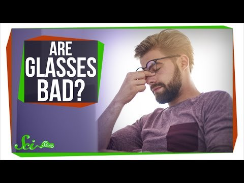 Do Glasses Ruin Your Eyesight? Keep watching this videos to find out the answer.  http:// bit.ly/2oPCc27  &nbsp;    #Eyesight #Glasses<br>http://pic.twitter.com/AxRx1cC4kY