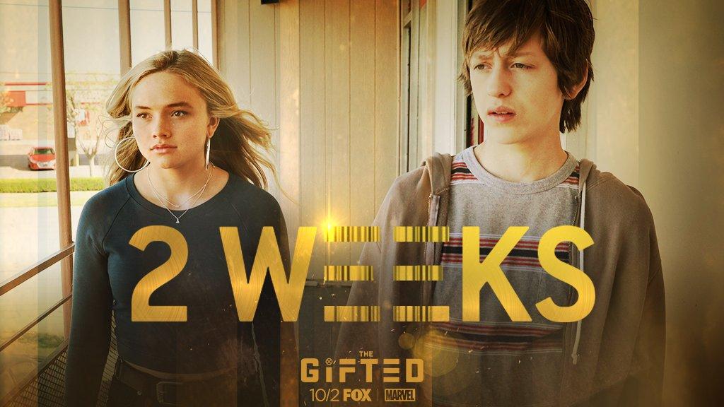 We're getting closer. #TheGifted is here in 2 WEEKS. 💥 💫
