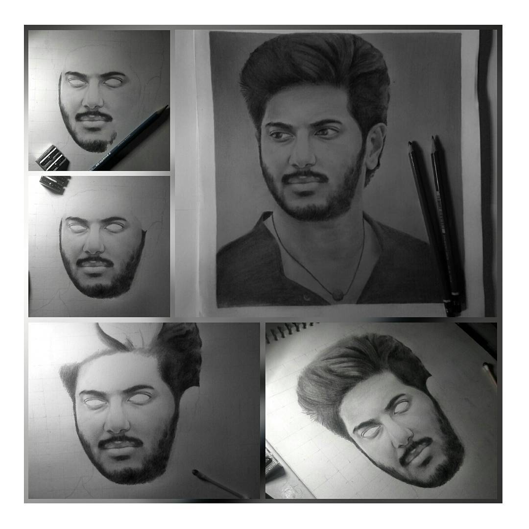 #Siva step by step @dulQuer ikka  #Solo #Siva #pencil #drawing Art by #Anandhu  @SoloMovieOffl @nambiarbejoy @basil4u @Forumkeralam1 <br>http://pic.twitter.com/HRZWts30X3