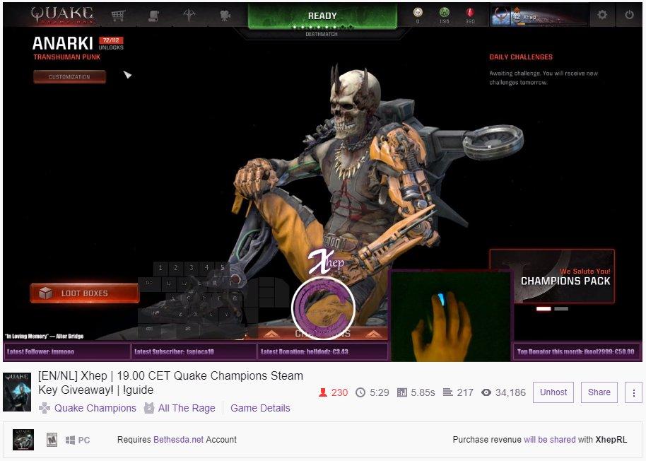 Quake 4 steam key giveaways