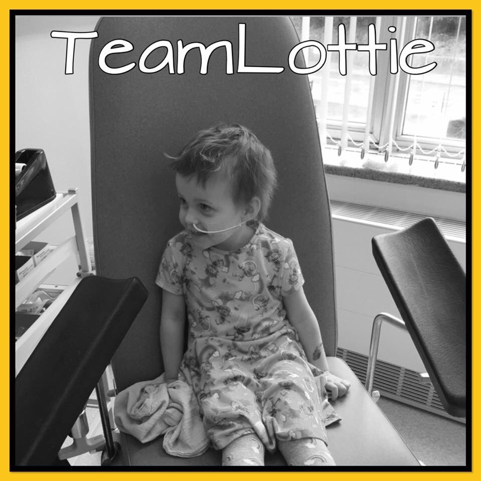 Today was Lottie&#39;s last round of tests, it should have been her first day of school..... #teamlottie #cancersucks <br>http://pic.twitter.com/jfxKLhKvyc