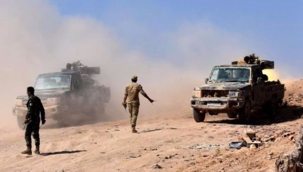 Syrian army routs IS group, advances past Euphrates river https://t.co/Q595FRxeTe