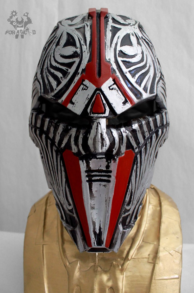 Sith Acolyte. Cosplay Mask. Replica. Fan Art. #starwars #sith #acolyte #fanart #jedi #Imperial #mask #clone #craft #trooper #sabre #Force<br>http://pic.twitter.com/3Ew0CbQgMY