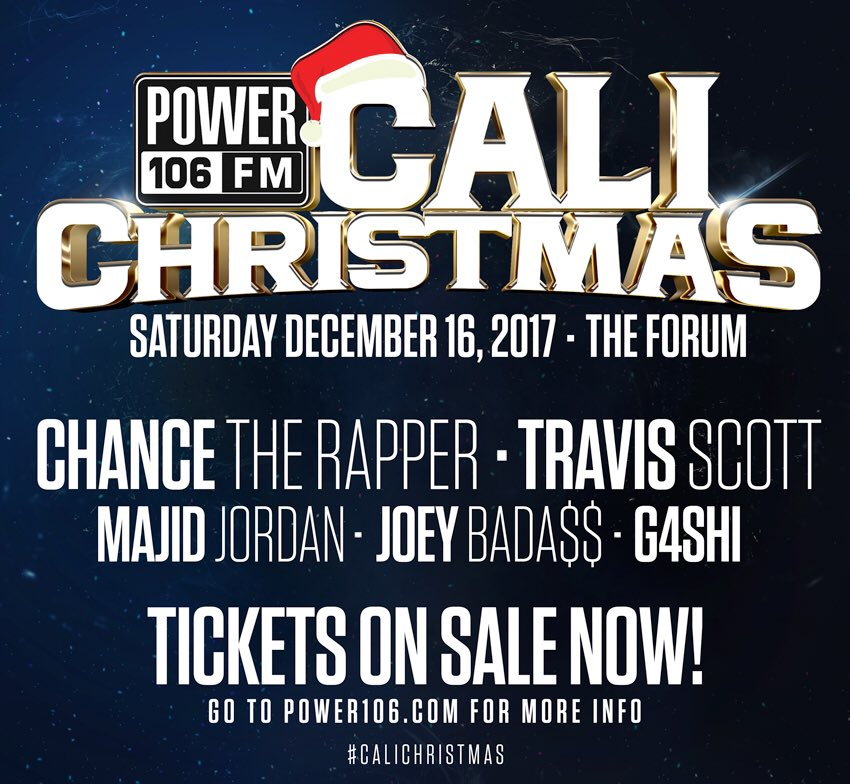 Happy Monday LA! Hit @yesiortiz w/your #WeekendWins & get ready to win  tix#CaliChristmas every HR + a chance at $10,000,000 818-520-1059 ☎️