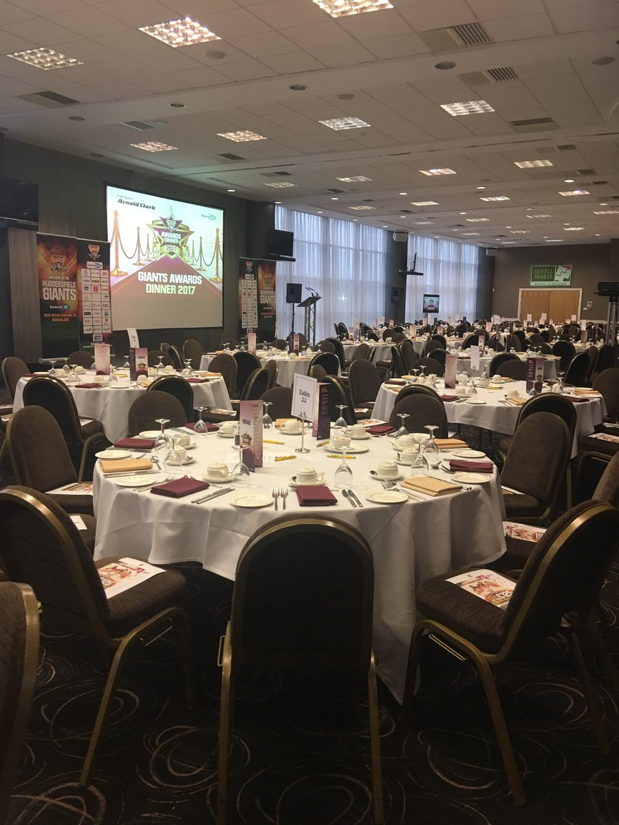 Were All Set Up Ready For Tonights Awards Evening Which Is Sponsored By Arnold Clarkpictwitter RtrMWmPW64