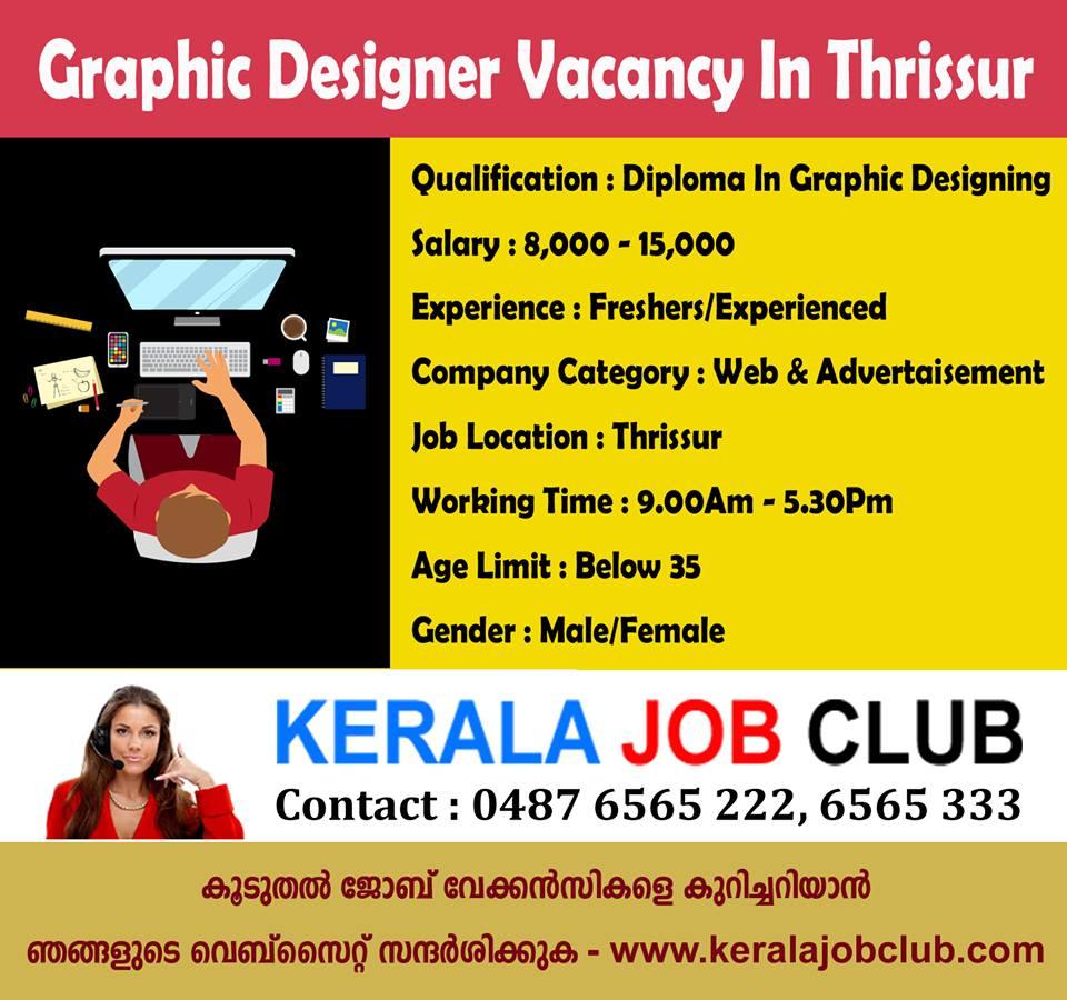 Kerala Job Club Com On Twitter Graphic Designer Vacancy In Thrissur Job Applying Link Https T Co Uycxyhjfi7 Kerala Job Club Https T Co Yl5cbqghgn Https T Co Hdlnc68xsx