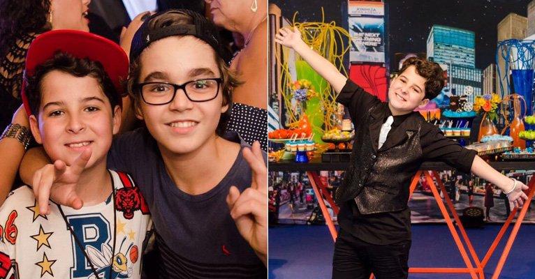 Luiz Felipe Mello, de Os Dias Eram Assim, completa 12 anos e recebe astros teens em festa-->https://t.co/ltDsKmayya