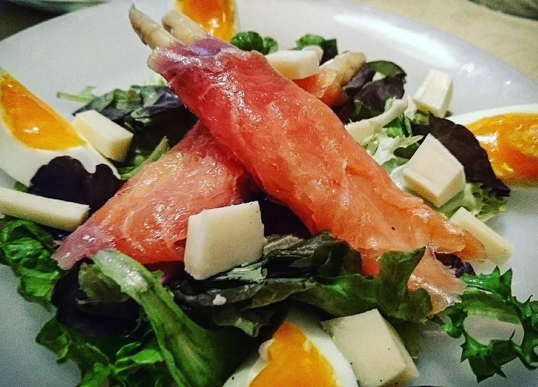 RT @CluaSergi: #salmon #FelizLunes #ensalada https://t.co/s4Gxo3J3nk