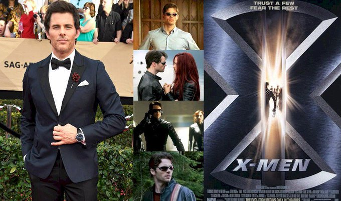 Hoy cumple 44 años James Marsden (Scott Summers / Cyclops en Happy Birthday