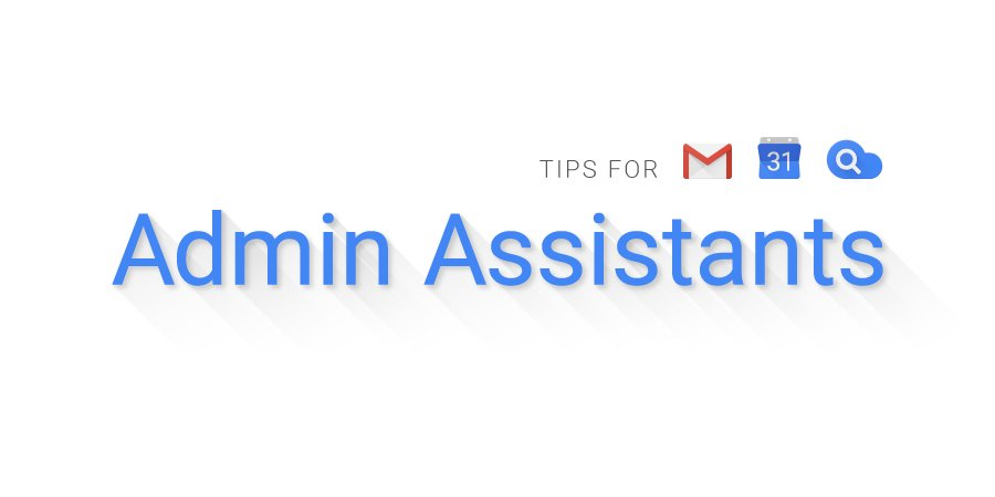 Save time, stay organized and get more done with these #gsuite tips for #Admin assistants →  http:// goo.gl/yNXhDH  &nbsp;  <br>http://pic.twitter.com/qyC74fTxoN