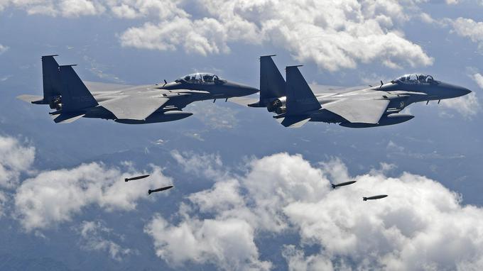 🔴 BREAKING NEWS - #CoreeDuNord: Des chasseurs et bombardiers américains survolent la Corée du Nord.'➡https://t.co/mHTqWAHXGo #EtatsUnis