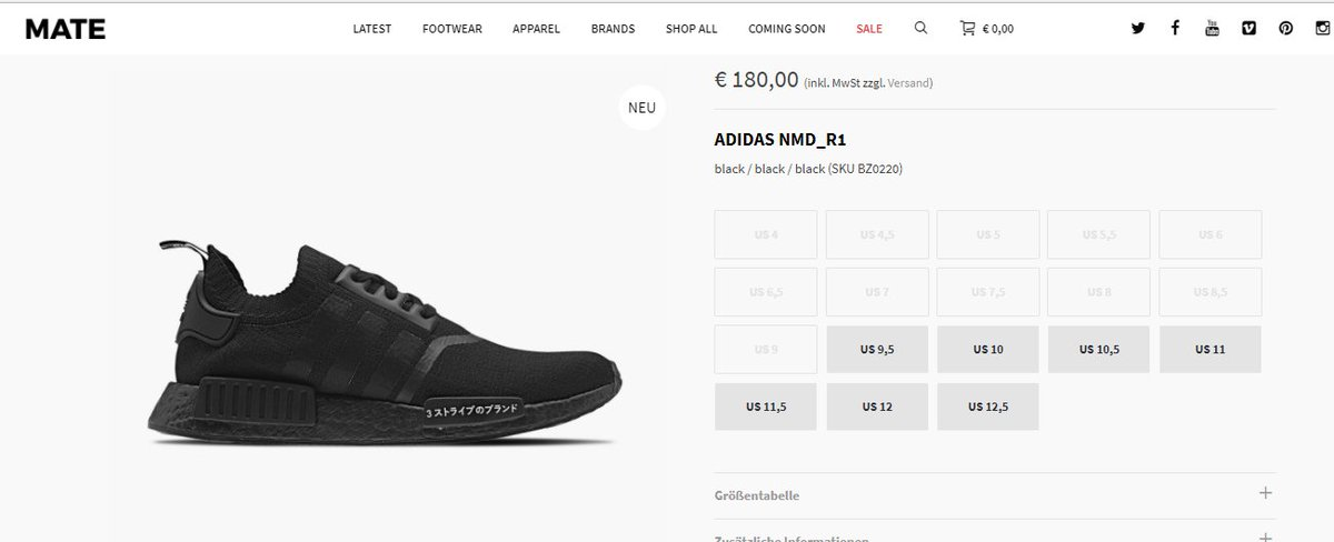 e0e9bd8738f31 These Two New Colorways Of The adidas NMD R1 Drop Next Month