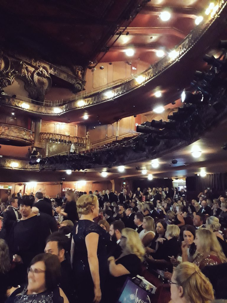 It&#39;s all just getting started over here at the Lyceum Theatre... #ttgawards #soexciting  <br>http://pic.twitter.com/4eZyKa2oPT