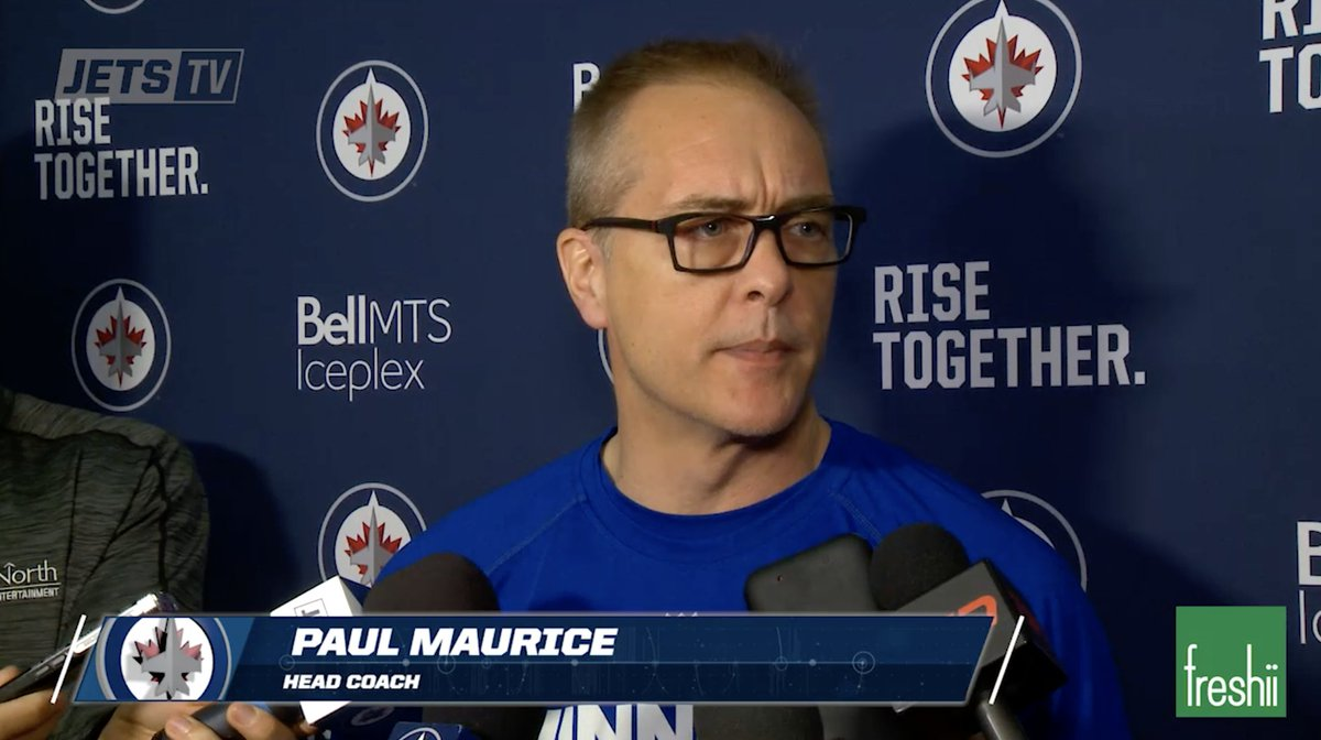 #NHLJets Head Coach Paul Maurice shares his thoughts in anticipation o...