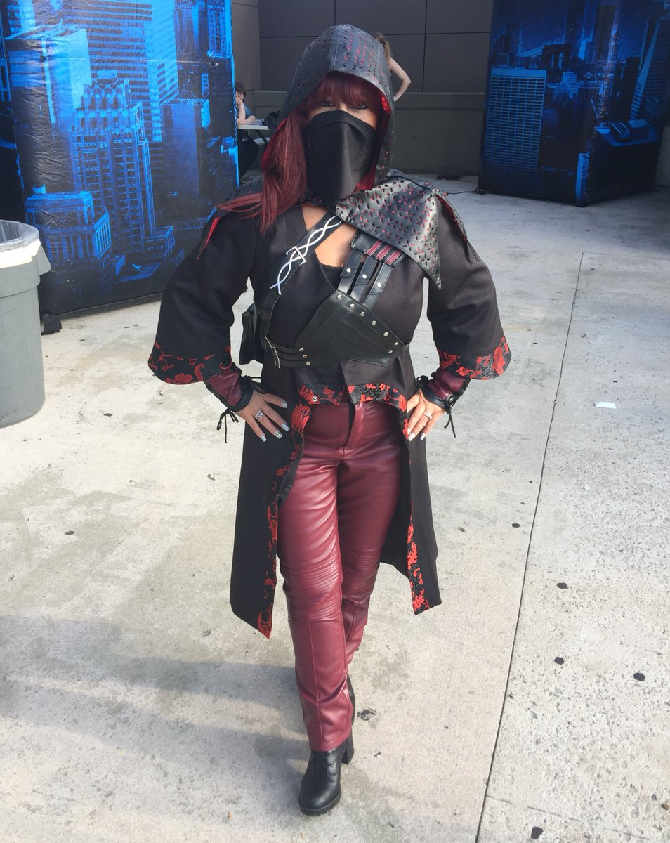 Matchless nyssa al ghul cosplay can