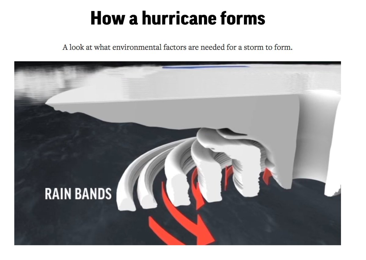 How exactly do hurricanes form? @AP_Interactive explains the process. https://t.co/erxE6vK4nS