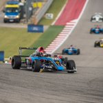 Even with front-wing damage, @Bradeneves was able to secure the first win of his open-wheel career at @COTA #F4US https://t.co/qj0KJfJTiK