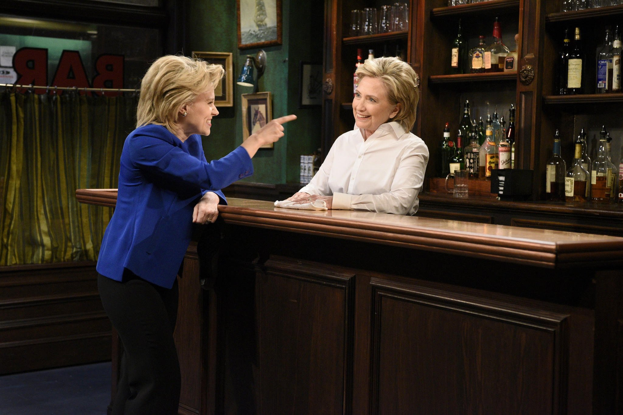 Here's what Hillary Clinton thought about Kate McKinnon's Emmy-winning 'SNL' tribute https://t.co/gixfgdc33e https://t.co/8BncdNKHr2