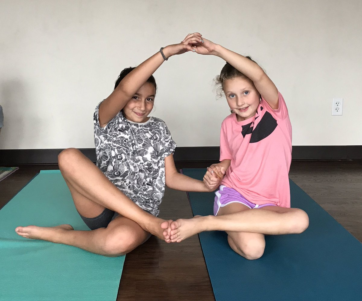 Joy Yoga On Twitter The Kids Created Their Own Partner Poses Today Kidsneedyoga Joyyoga Melrosema Teachpeace Partneryoga Yogi Youngyogi