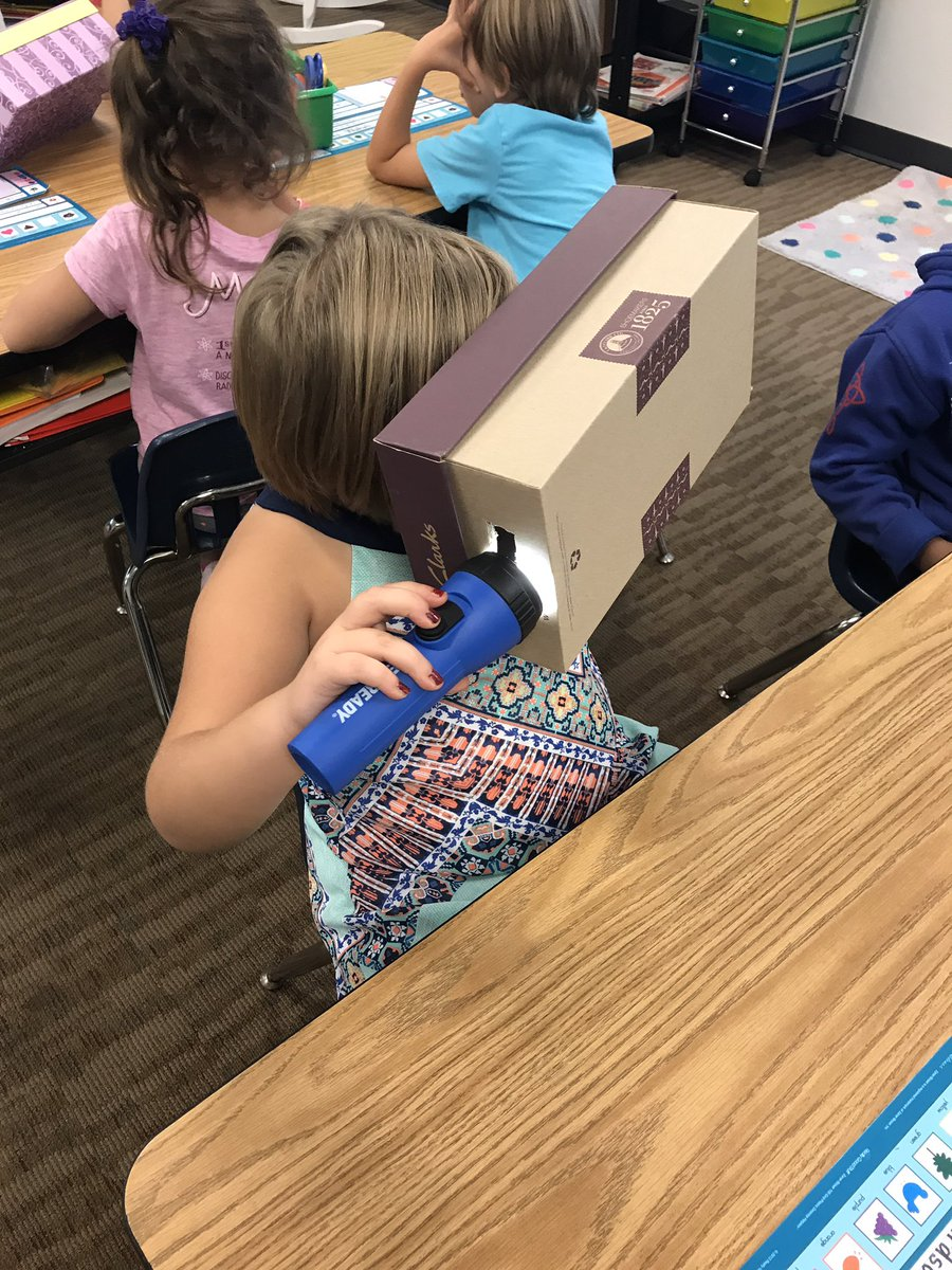 Investigating how we use light to see objects &amp; learning the importance of light! #Scientists #ThisIsLeaphart @LeaphartElem <br>http://pic.twitter.com/LBs9NOC8Cm